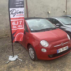 Fiat 500 C 1.2 Essence (Professionnel) Garantie 6 mois
