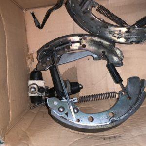 kit mâchoires de frein polo