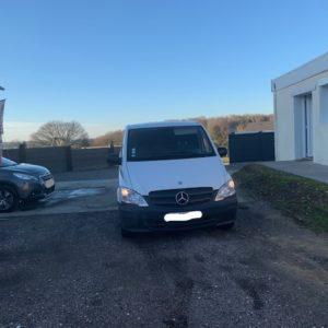 Mercedes Vito 2.2l 95ch 110 CDI 95000km porte latéral 3 places Utilitaire